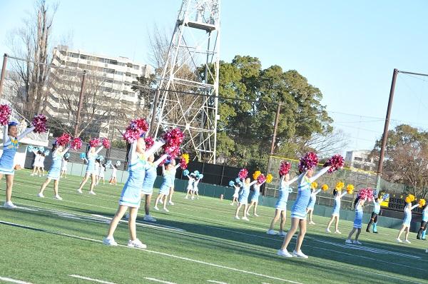 1月14日(日)カレッジボウル2018川崎★スペシャルチアリーダーズ出演