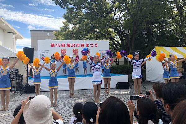 藤沢Spinels(スピネルズ)体験会☆中学生高校生チアダンスチーム