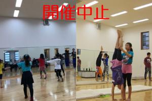 再掲載【開催中止】3月開催バレエ/アクロバット