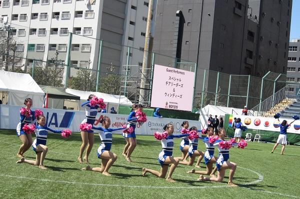 3/20調布チアダンスチームWINDYS体験会