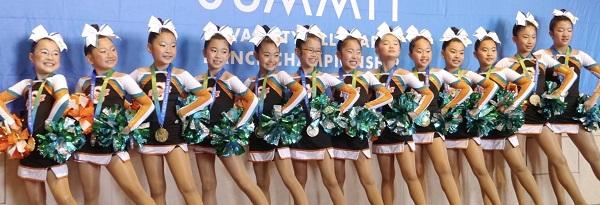 ■勝どきチアスクール■ blue seagulls 勝どきチアダンススクール